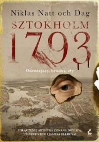 Sztokholm 1793 - okładka książki