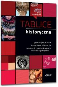 Tablice historyczne - okładka podręcznika
