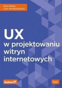 UX w projektowaniu witryn internetowych - okładka książki