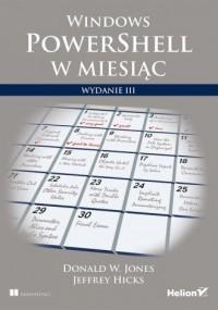 Windows PowerShell w miesiąc - okładka książki