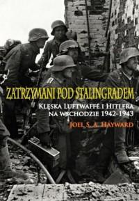 Zatrzymani pod Stalingradem. Klęska Luftwaffe i Hitlera na wschodzie 1942-1943 - okładka książki