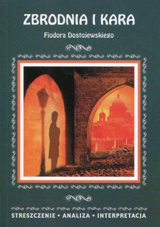 Zbrodnia i kara Fiodora Dostojewskiego. - okładka podręcznika