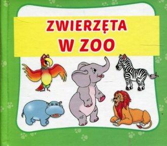 Zwierzęta w ZOO harmonijka mała - okładka książki