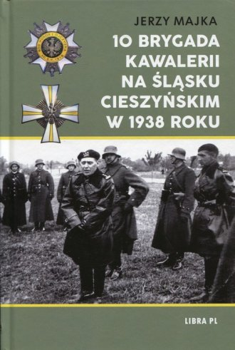 10 Brygada kawalerii na Śląsku - okładka książki