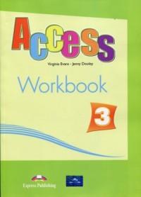 Access 3 Workbook + Digibook International - okładka podręcznika