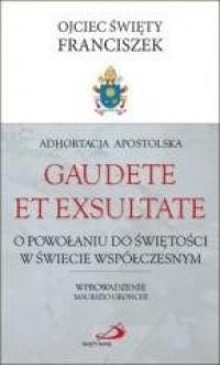 Adhortacja Apostolska Gaudete et - okładka książki