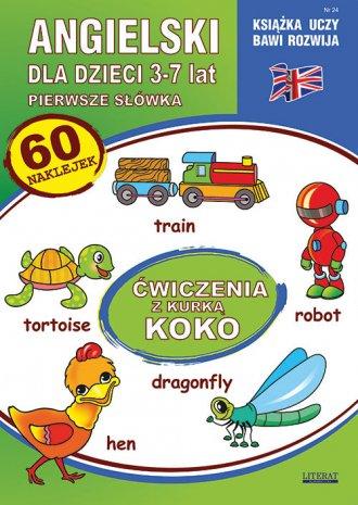 Angielski dla dzieci 3-7 lat. Zeszyt - okładka podręcznika