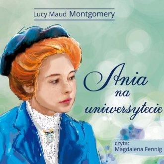 Ania na Uniwersytecie - pudełko audiobooku