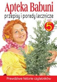 Apteka Babuni cz. 5 - okładka książki