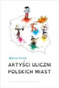 Artyści uliczni polskich miast - okładka książki