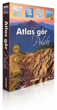 Atlas gór Polski - okładka książki
