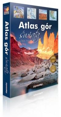 Atlas gór świata - okładka książki