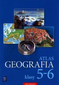Atlas SP 5-6 Geografia WSiP - okładka podręcznika