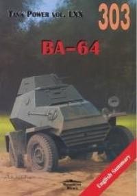 BA-64. Tank Power vol. LXX 303 - okładka książki