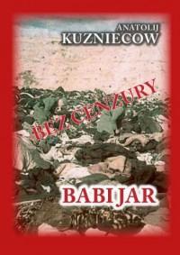 Babi Jar - okładka książki