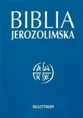 Biblia Jerozolimska - panigatory - okładka książki