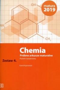 Chemia. Próbne arkusze maturalne. Zestaw 4. Poziom rozszerzony - okładka podręcznika
