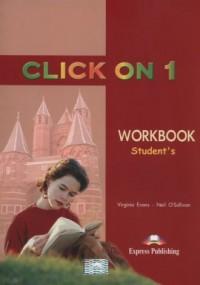 Click On 1 Workbook - okładka podręcznika