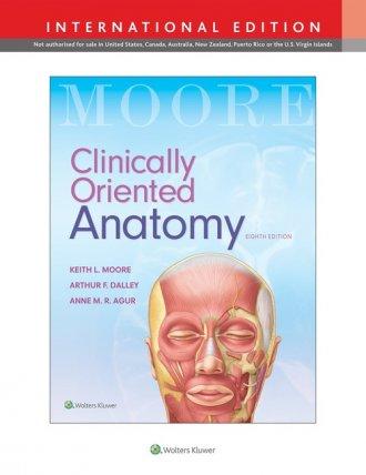 Clinically Oriented Anatomy 8e - okładka książki
