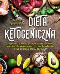 Dieta ketogeniczna - okładka książki