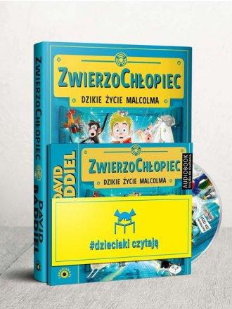 Dzieciaki Czytają: ZwierzoChłopiec. - okładka książki