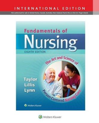 Fundamentals of Nursing 8e - okładka książki