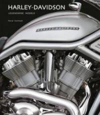 Harley Davidson. Legendarne modele - okładka książki