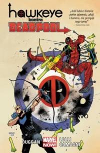 Hawkeye kontra Deadpool - okładka książki