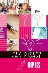 Jak pisać? Opis - okładka podręcznika