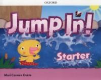 Jump in! Starter - okładka podręcznika