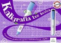 Kaligrafia bez końca. Ćwiczenia grafomotoryczne wielokrotnego użytku - okładka podręcznika
