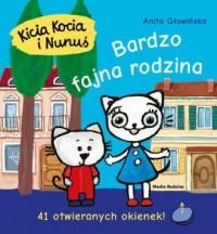 Kicia Kocia i Nunuś. Bardzo fajna - okładka książki