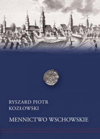 Mennictwo wschowskie - okładka książki