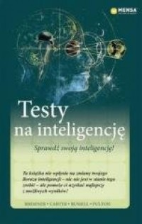 Mensa The High IQ Society. Testy na inteligencję - okładka podręcznika