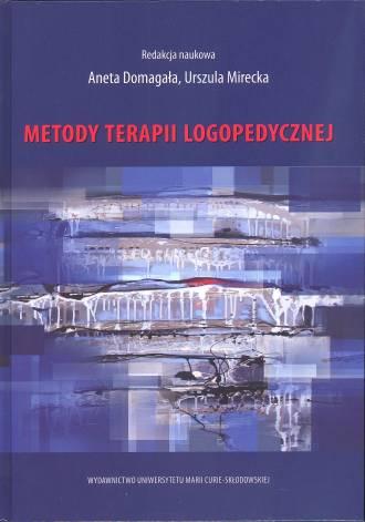 Metody terapii logopedycznej - okładka książki