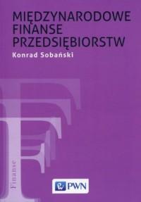 Międzynarodowe finanse przedsiębiorstw - okładka książki