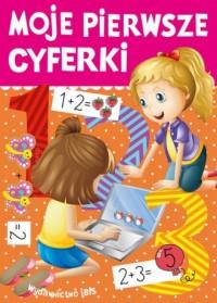 Moje pierwsze cyferki - okładka podręcznika