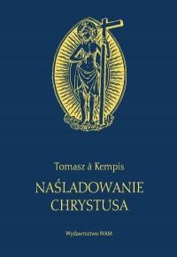 Naśladowanie Chrystusa (granat) - okładka książki