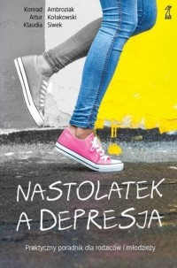 Nastolatek a depresja - okładka książki