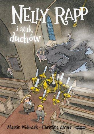 Nelly Rapp i atak duchów - okładka książki