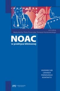 NOAC w praktyce klinicznej - okładka książki
