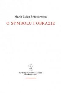 O symbolu i obrazie - okładka książki