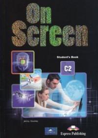 On Screen C2 Students Book + Digibook - okładka podręcznika