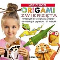 Origami Zwierzęta - okładka książki