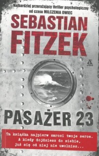 Pasażer 23 - okładka książki