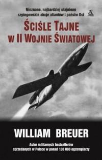 Ściśle tajne w II wojnie światowej - okładka książki