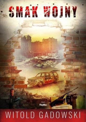 Smak wojny - okładka książki