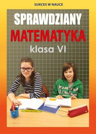 Sprawdziany. Matematyka. Klasa - okładka podręcznika