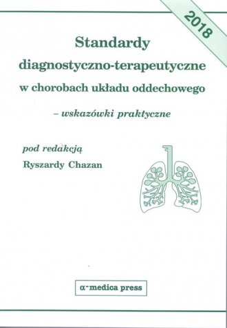 Standardy diagnostyczno-terapeutyczne - okładka książki