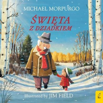 Święta z dziadkiem - okładka książki